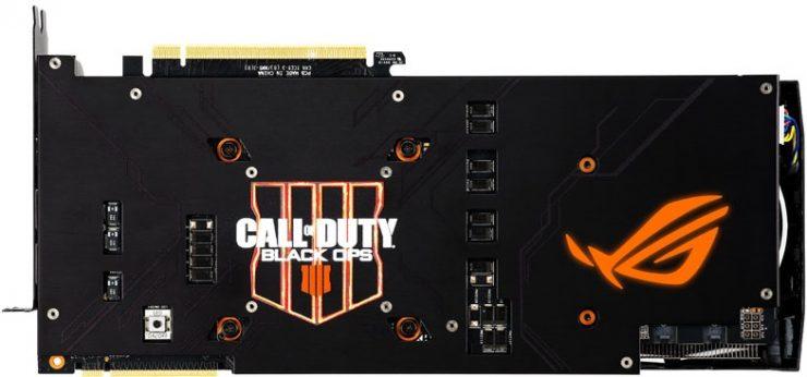 Gráfica GeForce RTX 2080 Ti ROG STRIX Black Ops 4 Edition