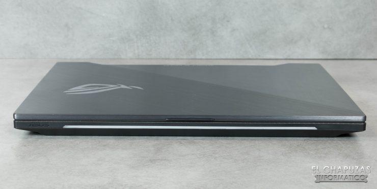 Asus ROG Strix SCAR II (GL504GS) Margen frontal