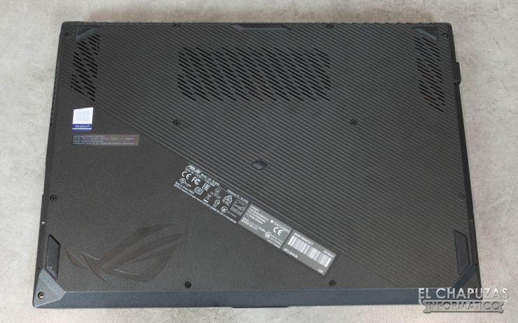 Asus ROG Strix SCAR II (GL504GS) Base