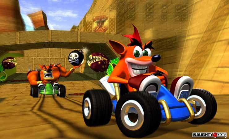remasterización Crash Team Racing