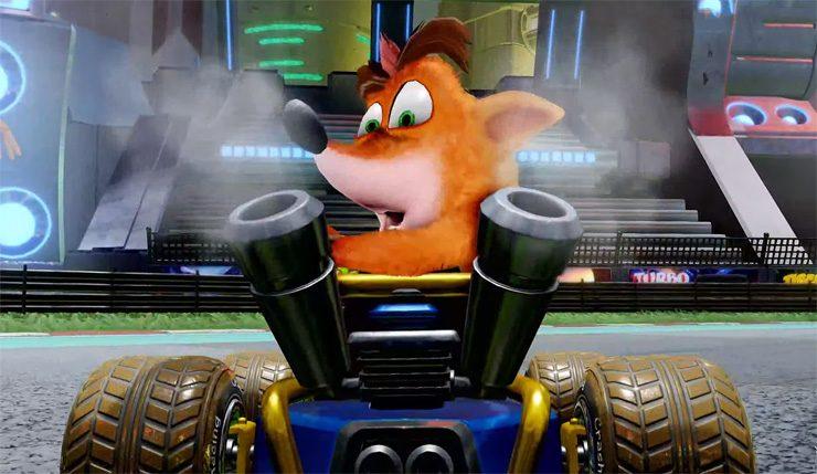 juego Crash Team Racing Nitro-Fueled
