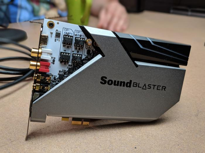Creative Sound BlasterX AE 9 1 0