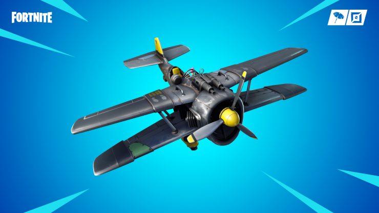 avión Alatormenta X-4 Fortnite