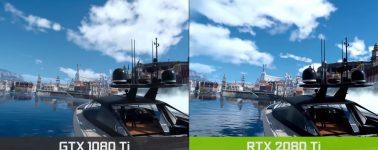 Críticas a Nvidia por comparar la tecnología DLSS entre una GeForce GTX 1080 Ti y una RTX  2080 Ti