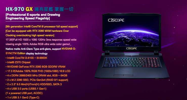 GeForce RTX 2080 Mobility