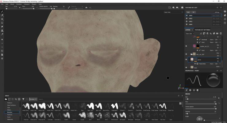 Gollum Render Unreal Engine 4