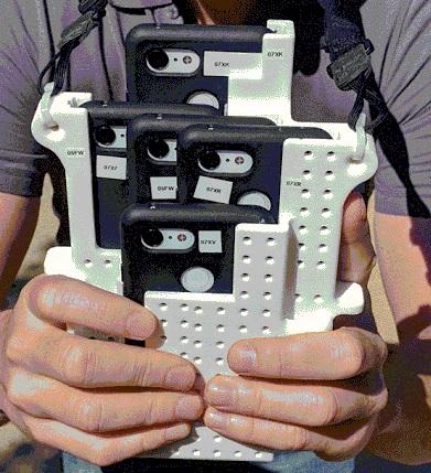 El Frankenphone, varios Pixel 3 para mejorar el Modo Retrato