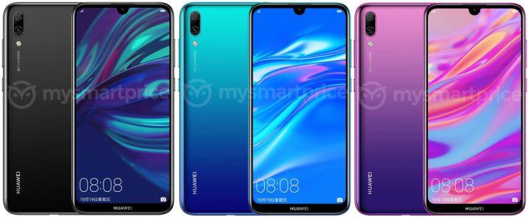 smartphone Huawei Y7 Prime (2019)