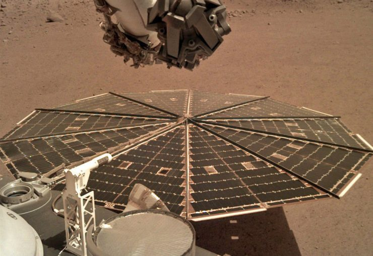 InSight NASA Marte