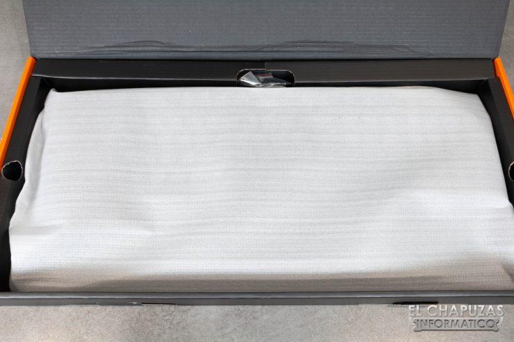 teclado krom kempo embalaje interior