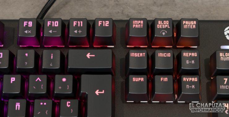 teclado krom kempo teclas sistema