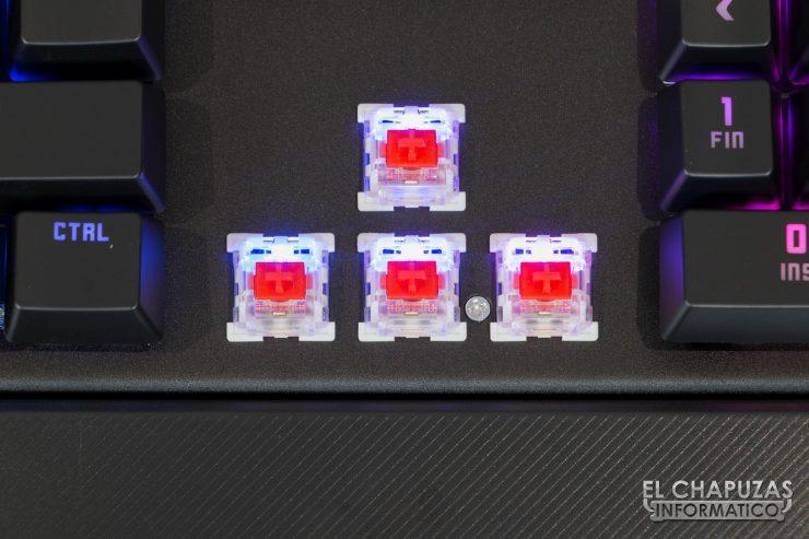 teclado krom kempo cursores