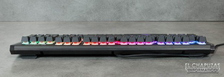 teclado krom kempo lado trasero