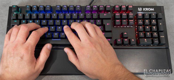 teclado krom kempo pruebas