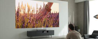 LG CineBeam HU85L: Proyector láser 4K con IA que se anunciará en Enero