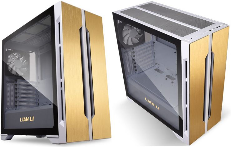 Chasis Lancool One Digital Champagne Limited Edition