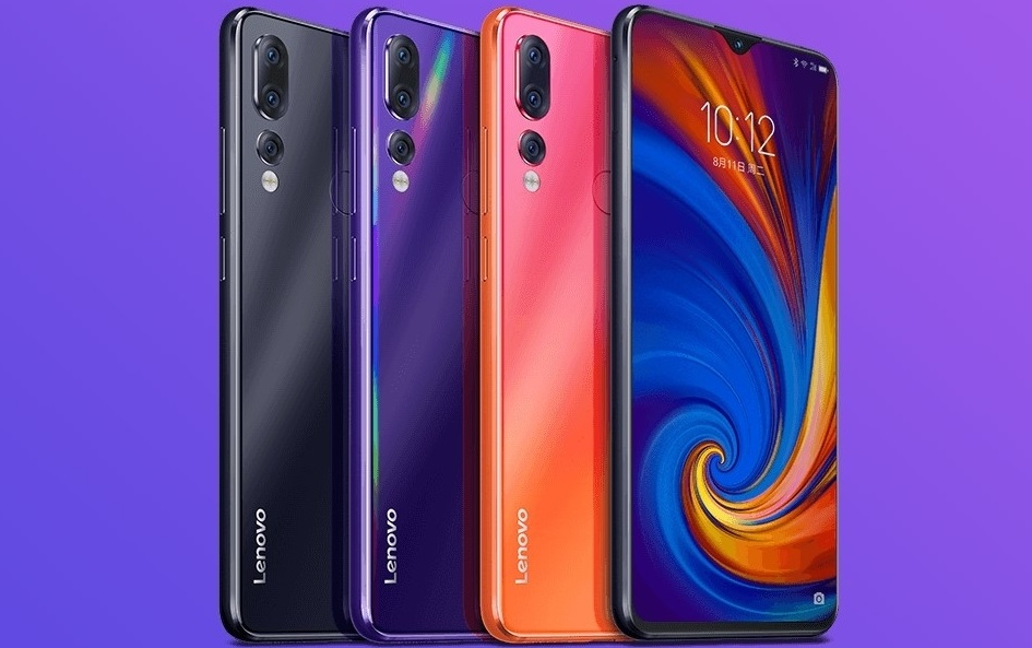 Colores disponibles Lenovo Z5s