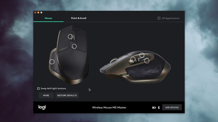Software Logitech Options