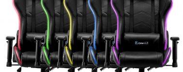 Newskill Kitsune RGB, ya tenemos en España la primera silla RGB