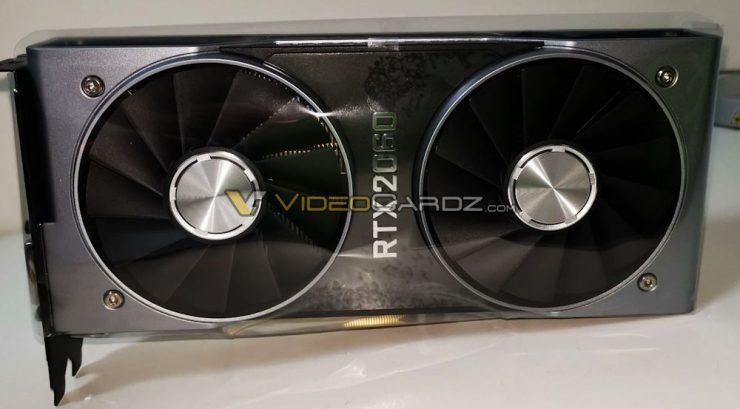 GPU Nvidia GeForce RTX 2060 Founders Edition