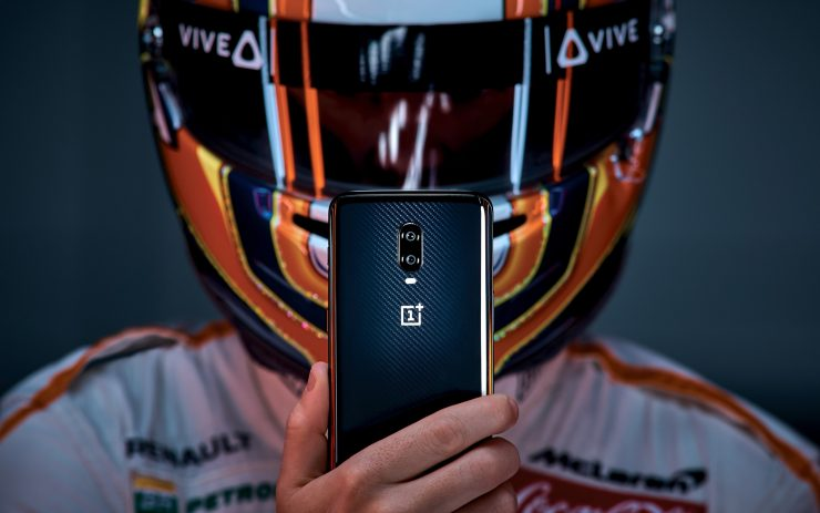 smartphone OnePlus 6T McLaren Edition