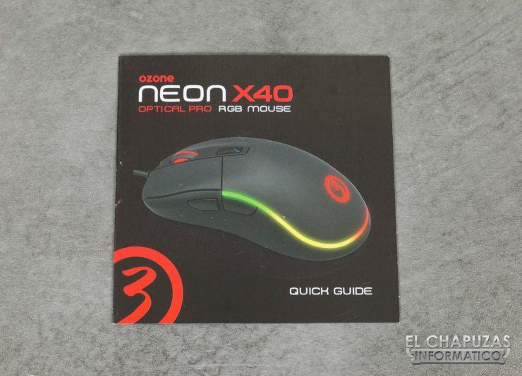 Ozone Neon X40 manual