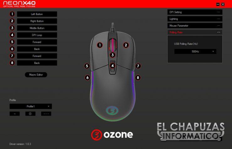 Ozone Neon X40 software 4