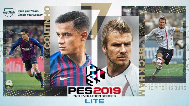 descarga gratis Pro Evolution Soccer 2019 Lite