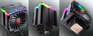 Raijintek MYA RBW: Disipador CPU silencioso y con iluminación ARGB