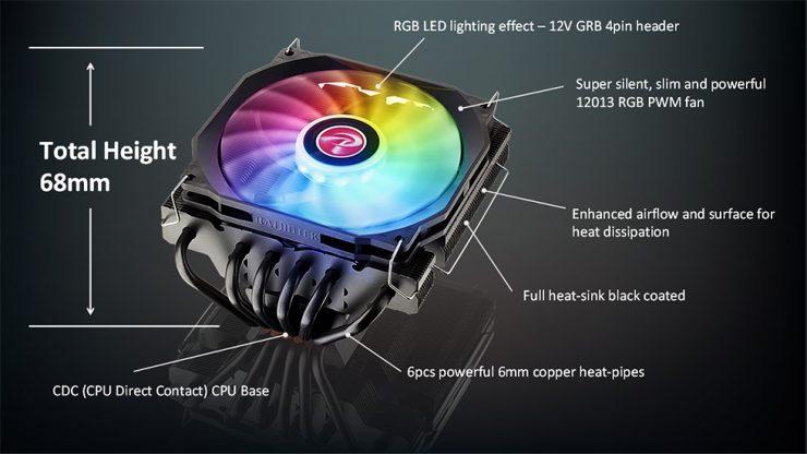 Disipador Pallas 120 RGB