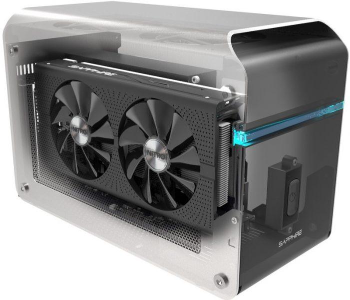 GPU Externa Sapphire GearBox Thunderbolt 3 eGFX