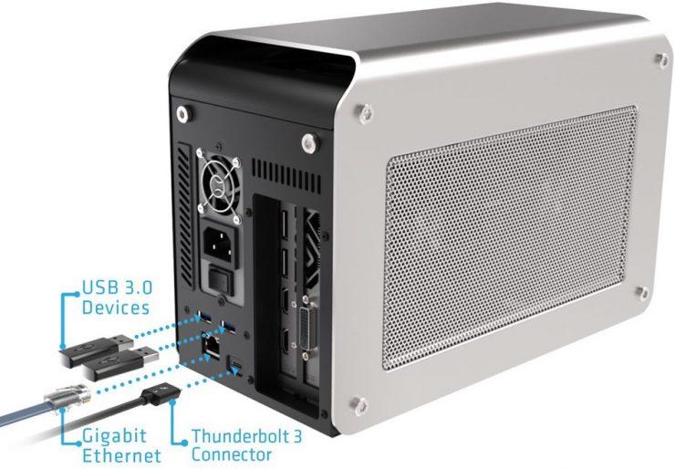 eGPU Sapphire Radeon RX 580