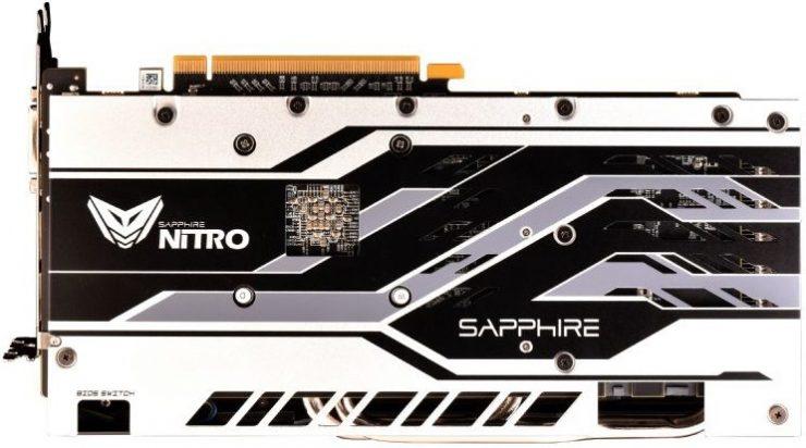 "Backplate Radeon RX 590 Nitro+ OC Sans ""Special Edition"""