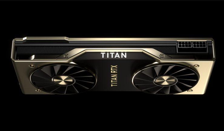 TITAN RTX grafica