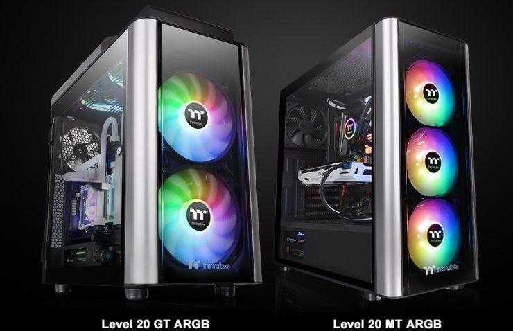 Chasis ThermaltakeLevel 20 MT ARGB & Level 20 GT ARGB