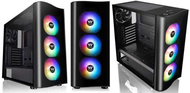 Chasis Thermaltake View 23 Tempered Glass ARGB
