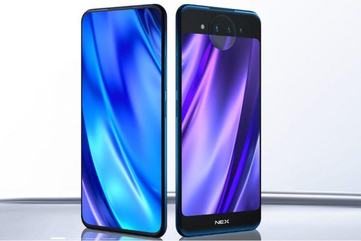 Smartphone Vivo Nex Dual Display Edition