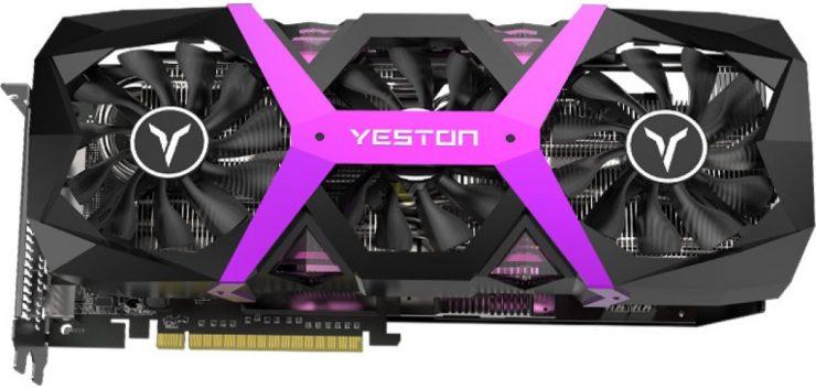 Grafica YESTON Radeon RX 590 Game Ace