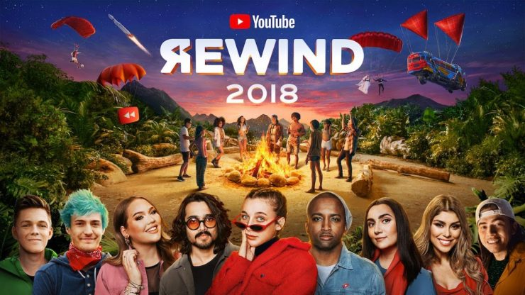 criticas YouTube Rewind 2018