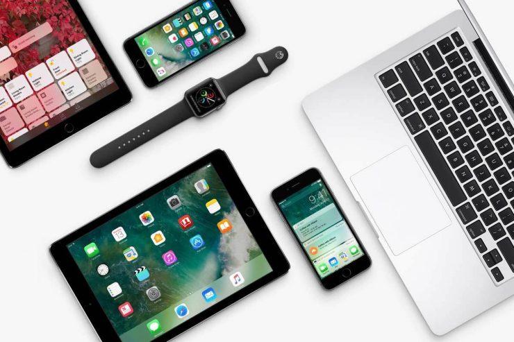 Productos varios de Apple