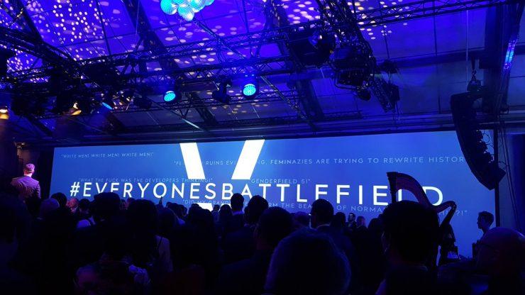 Evento de Battlefield V sobre el feminismo