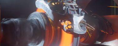 Así prueba Bugatti las primeras pinzas de freno de titanio impresas en 3D