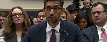Sundar Pichai recuerda en el Congreso de EE.UU. que Google no produce el iPhone