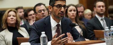 """El CEO de Google explicó al Congreso de EE.UU. por qué aparecen fotos de Trump al buscar """"idiota"""""""