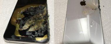 Ya tenemos la primera explosión de un iPhone XS Max