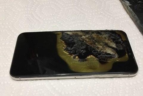 explosión iPhone XS Max