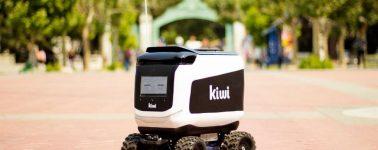 Kiwibot, el robot-repartidor que explotó espontáneamente en una universidad de EE.UU.