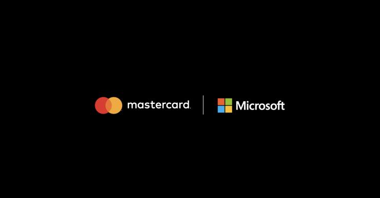 Logos de Mastercard y Microsoft