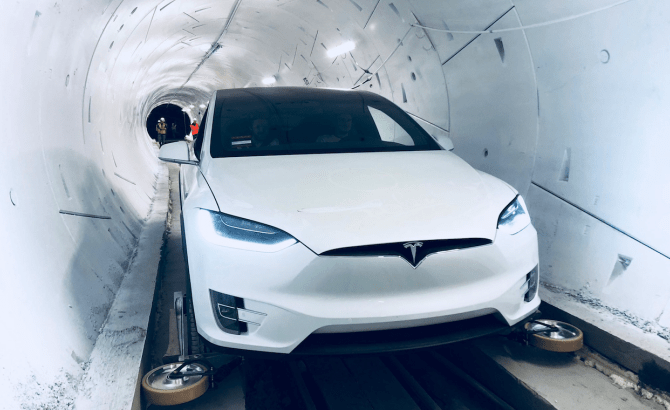 The Boring Company túnel