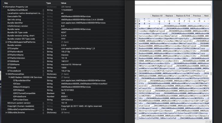 AMD Navi en MacOS Mohave 740x411 0